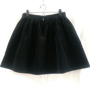 Ralph Lauren black Corduroy Mini Skirt size 2